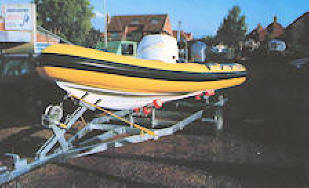 Ian Porter Sales Ltd BARRACUDA RIB